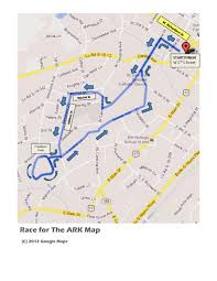 Race Map Race For The Ark Thearkofsc Com