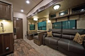 Sandpiper Rv Floor Plans by Fascinating 5th Wheel Bunkhouse Outdoor Kitchen And Forest River