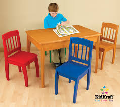 kidkraft euro honey table and 4 chairs 26175