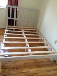 full size platform bed 4 steps with pictures