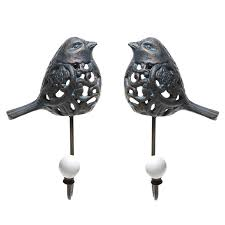 Decorative Wall Hooks For Hanging Bird Decorative Wall Hooks