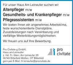 Anzeige Haus Gesucht Pro Civitate U203a Kategorien U203a Bitterfeld Am Leineufer