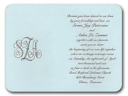 Reception Cards Wording Wedding Reception Wording On Invitation Paperinvite