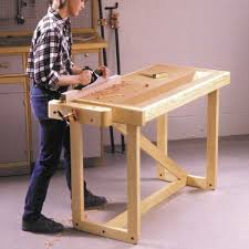 Build Wood Workbench Plans by Woodworking Project Paper Plan To Build One Weekend Workbench