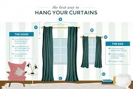 Curtain Hanging Ideas Ideas Hanging Curtains Hanging Curtains All Wrong Classy Inspiration 21