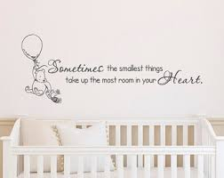 Wall Decals Kids Rooms by Winnie The Pooh Wall Decals Nursery Classic Winnie The Pooh
