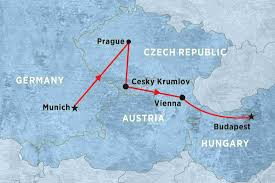 Prague Map Europe by Heartland Of Central Europe Czech Republic Tours Peregrine