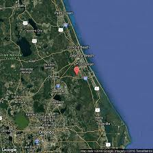 Florida East Coast Beaches Map by Beaches In Volusia County Florida Usa Today
