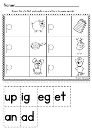 87 best worksheets cvc images on pinterest cvc