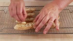 Garlic Bread In Toaster Food Bruschetta Hd Stock Video 247 852 898 Framepool