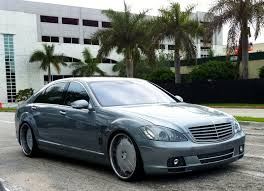 mercedes customized blue gray customized s class mercedes cars on the