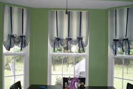 kitchen bay window curtain ideas bay window decorating ideas home intuitive