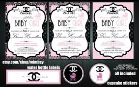 chanel baby shower beautiful chanel theme baby shower on we heart it