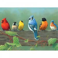 rail birds the artists collection painting by numbers reeves