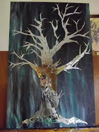 what does everyone think of my mirror mosaic tree time post