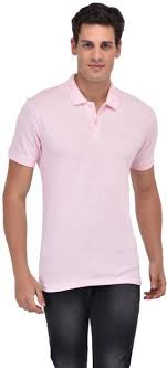 light pink t shirt mens octave solid men polo neck pink t shirt buy octave solid men polo