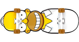 Homer Homer Simpson Skateboard Great Things To Buy