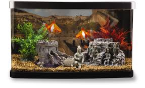 Fish Aquarium Tank Supplies and Decorations Bundle