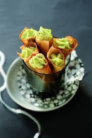 cuisine larousse recipe cornets de mousse de courgette source http cuisine