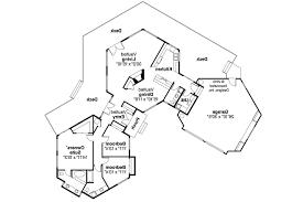 ranch house plans alder creek 10 589 associated designs free contemporary house plans encino 10 016 associated designs hexagonal contemporary house plan encino 10 01 hexagonal