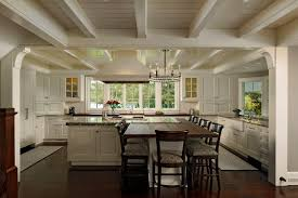 kitchen island with built in table kitchen built in table kitchen traditional with white cabinets