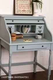 Desk Refinishing Ideas Best 25 Secretary Desks Ideas On Pinterest Painted Secretary