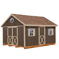 Lowes Floor Plans by Shop Best Barns Common 12 Ft X 16 Ft Interior Dimensions 11 42