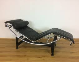 lc4 lounge chair by le corbusier charlotte perriand for cassina 1970s