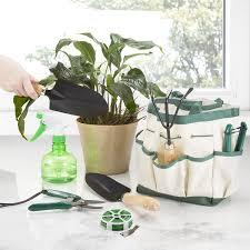 amazon com pure garden 75 08002 8 piece garden tool and tote set