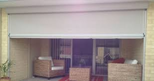 Track Guided Outdoor Blinds Cafe Alfresco U0026 Outdoor Blinds Perth Ph 08 9592 1285 Grand