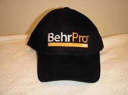 behr pro paint baseball hat black kilz primer painter cap home