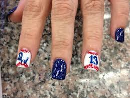 baseball nail design love this for this summer little league