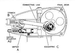 the lucas 2 speed dr1 wiper motor jaguar xk 140 fhc part