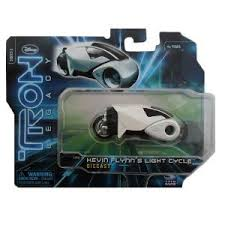 Tron Legacy Light Cycle Amazon Com Tron Legacy Series 2 Kevin Flynn U0027s Light Cycle 1 50
