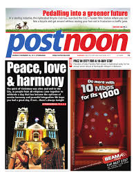 postnoon e paper for 25 december 2011 by scribble media