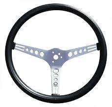 mustang steering wheels gt mustang style 15 inch foam 3 spoke steering
