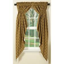 gold pineapple curtain country style curtains sturbridge yankee