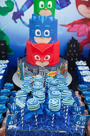 kara u0027s party ideas pj masks birthday party ideas kara u0027s party ideas