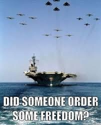 Freedom Meme - ordered up some freedom meme military pinterest meme and memes