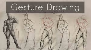 how to do gesture drawing 12 tip tutorial youtube