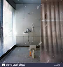 japanese shower shower room in a japanese bathroom stock photo 134040988 alamy