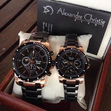 Jam Tangan Alexandre Christie Terbaru Pria jam tangan alexandre christie ac 9205 original black review