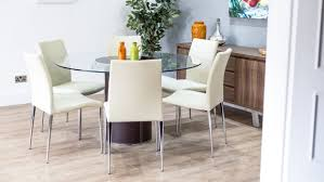 Round Glass Dining Table And Chairs Best Simple 2 Seater Glass Dining Table Sets 937