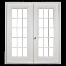 15 light french door doors fiberglass prehung sheds unlimited
