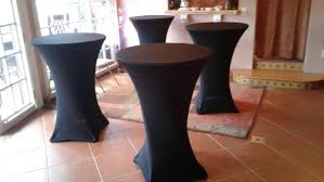 Table Cover Rentals Table Cover Rental Spandex Highboy Los Angeles Ca