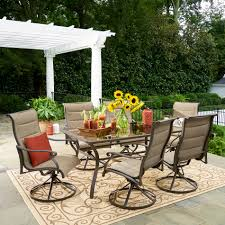 Patio Direct Replacement Slings by Grand Resort 7 Piece Oakdale Padded Sling Dining Set Limited