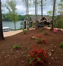 asheville mountain house on lake view story open floor plan with