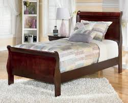 Full Size Sleigh Bed Decor Modern Remarkable Twin Sleigh Bed With Wondrous Pattern