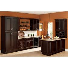 Hampton Bay Xx In Cambria Pantry Cabinet In JavaKPCJM - Home depot kitchen base cabinets