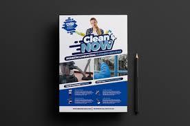 gutter cleaning flyer templates flyer templates creative market